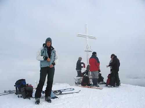 Foto: Lenswork.at / Ch. Streili / Ski Tour / Loibersbacher Höhe, 1456m / 19.11.2007 10:42:09