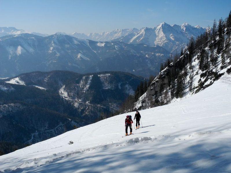 Foto: Walter Bröderbauer / Ski Tour / Hochsengs, 1838m / Aufstieg / 18.01.2013 20:53:28