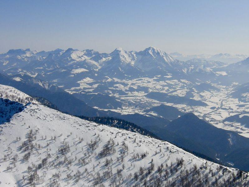 Foto: Walter Bröderbauer / Ski Tour / Hochsengs, 1838m / Ausblick vom Gipfel / 18.01.2013 20:54:06