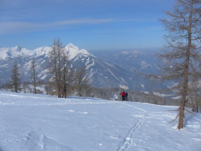 Foto: Wolfgang Lauschensky / Ski Tour / Wilde, 1719m -  über Wartegg / Kleiner Priel / 14.02.2012 22:08:37