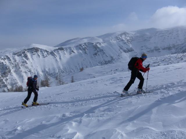 Foto: Wolfgang Lauschensky / Skitour / Wilde, 1719m -  über Wartegg / Warscheneck / 14.02.2012 22:08:26