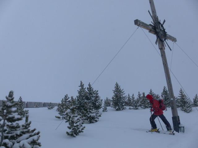 Foto: Wolfgang Lauschensky / Ski Tour / Pfoner Kreuzjöchl, 2640m / Wetterkreuz / 12.02.2013 17:47:17