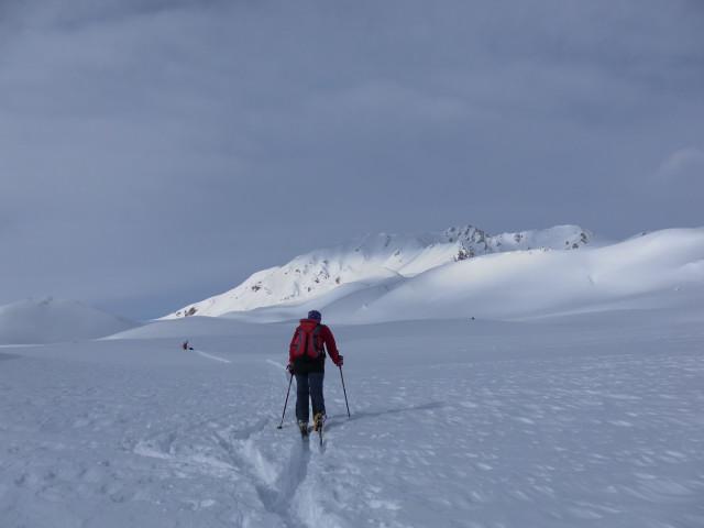 Foto: Wolfgang Lauschensky / Ski Tour / Pfoner Kreuzjöchl, 2640m / Mislböden / 12.02.2013 17:47:09