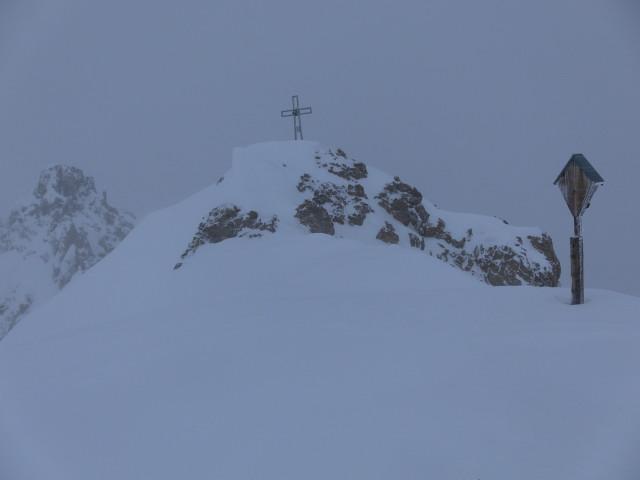 Foto: Wolfgang Lauschensky / Ski Tour / Pfoner Kreuzjöchl, 2640m / Pfoner Kreuzjöchl / 12.02.2013 17:47:01