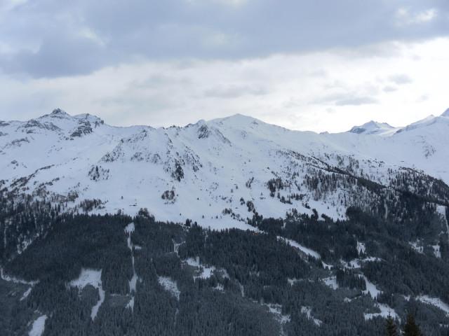 Foto: Wolfgang Lauschensky / Ski Tour / Pfoner Kreuzjöchl, 2640m / Blick zum Naviser Kreuzjöchl / 12.02.2013 17:46:53