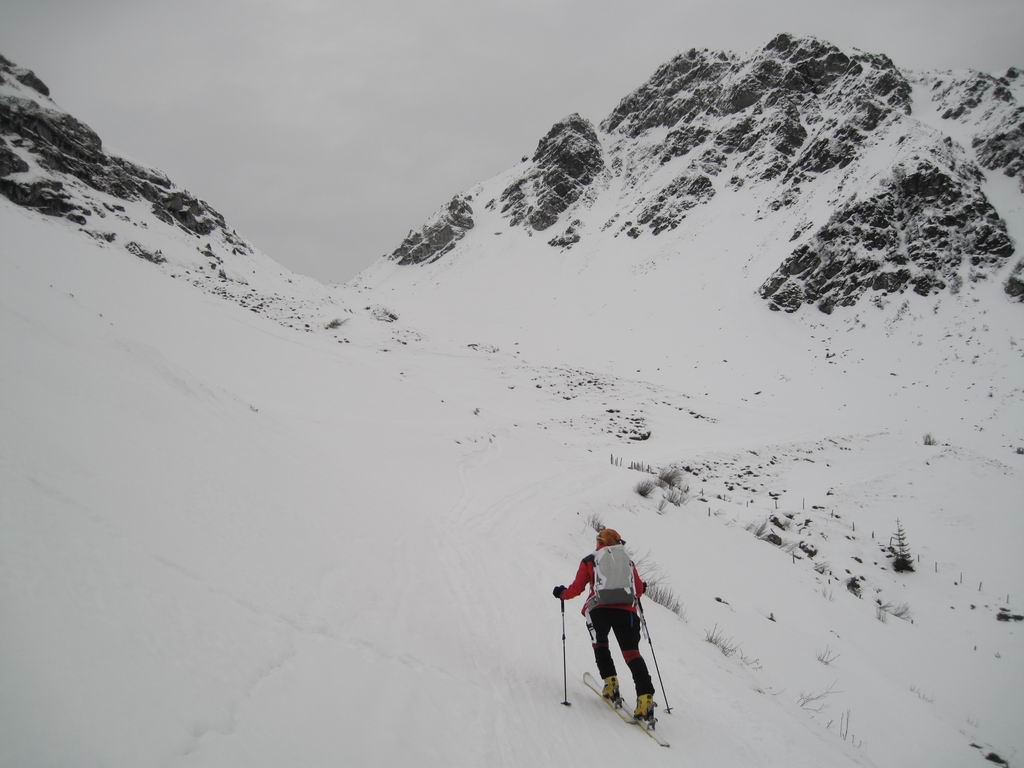 Foto: Heidi Schützinger / Skitour / Gamshag, 2178m / Der Aufstieg  zum