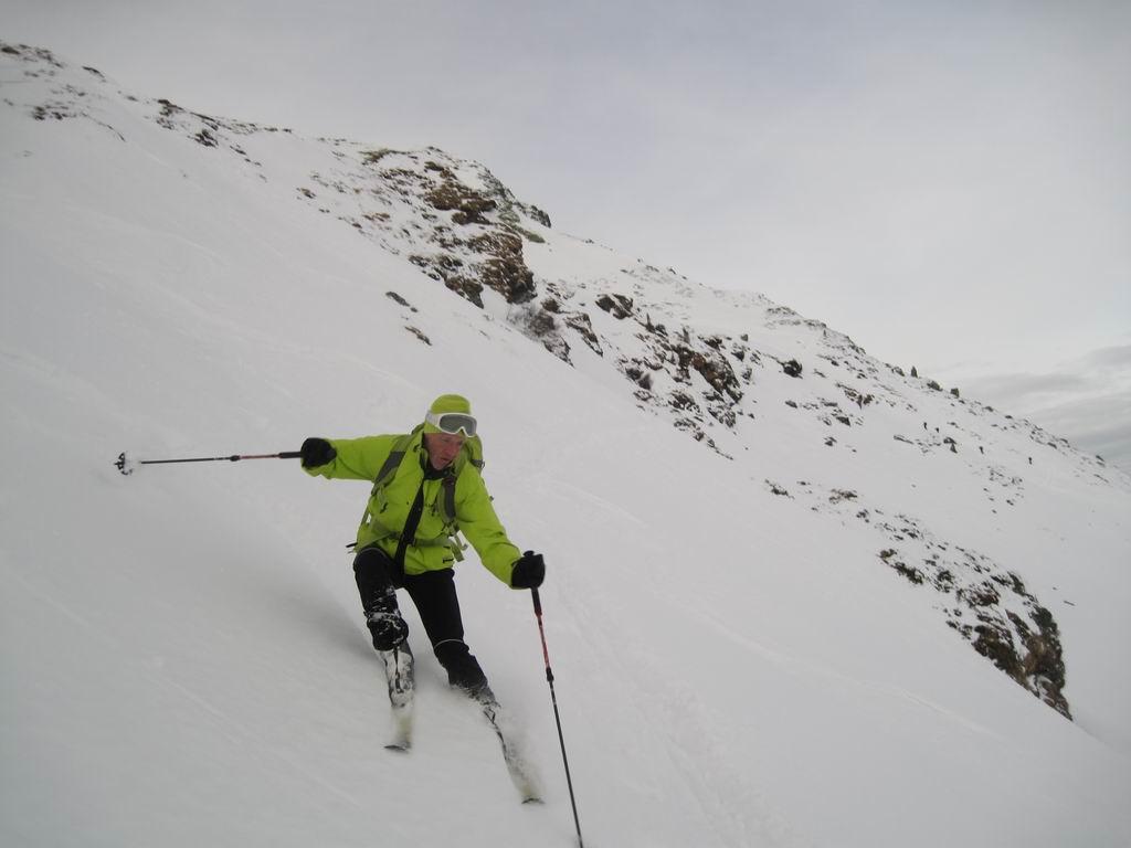 Foto: Heidi Schützinger / Skitour / Gamshag, 2178m / Wunderbares Abfahrtgelände bei idealen Schneebedingungen  / 07.01.2011 13:09:27