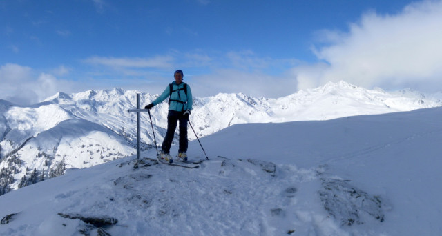 Foto: Wolfgang Lauschensky / Ski Tour / Baumgartgeier, 2392m, und Ronachgeier, 2236m / Ronachgeier / 04.02.2014 20:36:06