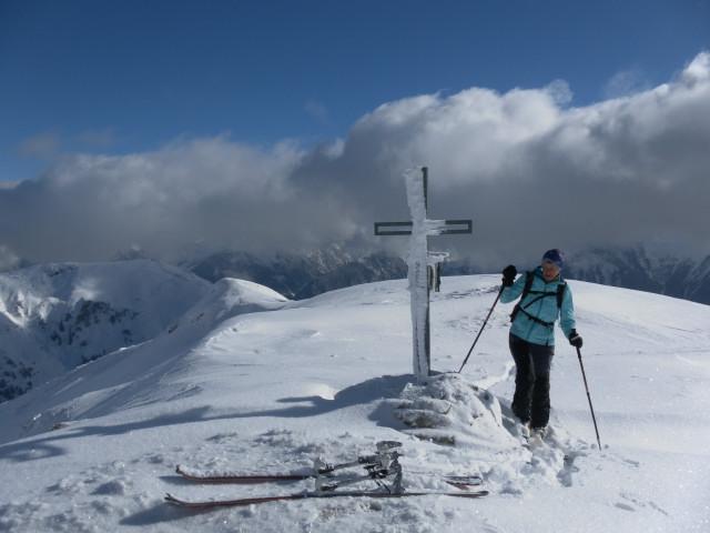 Foto: Wolfgang Lauschensky / Ski Tour / Baumgartgeier, 2392m, und Ronachgeier, 2236m / Baumgartgeier / 04.02.2014 20:35:23