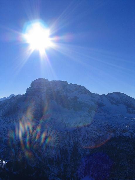 Foto: Andreas Koller / Ski Tour / Dürrenstein, 2839m - von Außerprags / 24.12.2008 13:53:33