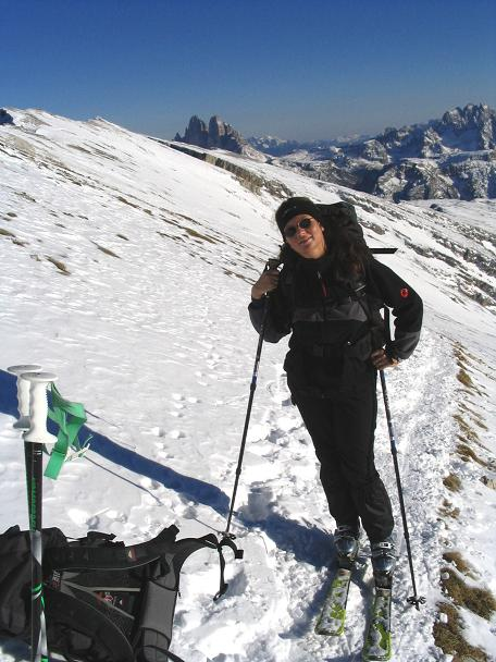 Foto: Andreas Koller / Ski Tour / Dürrenstein, 2839m - von Außerprags / 24.12.2008 13:53:26