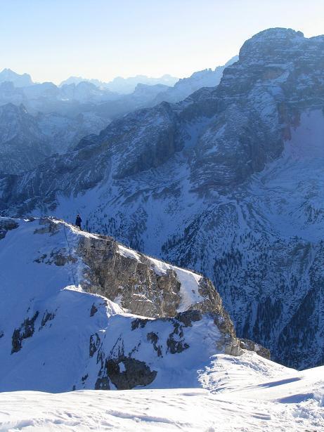 Foto: Andreas Koller / Ski Tour / Dürrenstein, 2839m - von Außerprags / 24.12.2008 13:52:59