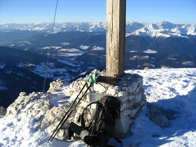 Foto: Andreas Koller / Ski Tour / Dürrenstein, 2839m - von Außerprags / 24.12.2008 13:52:49