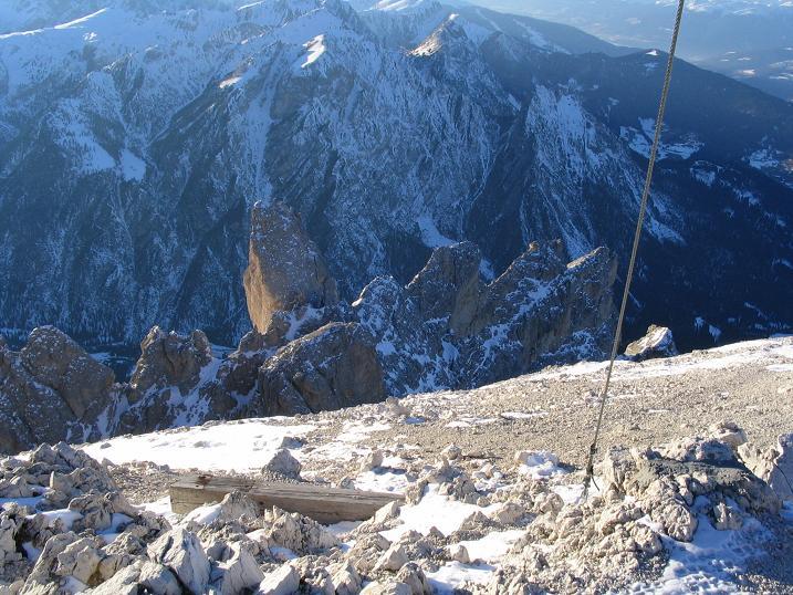 Foto: Andreas Koller / Ski Tour / Dürrenstein, 2839m - von Außerprags / 24.12.2008 13:52:28