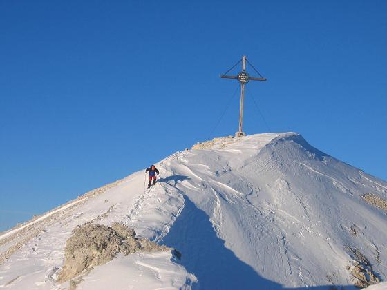 Foto: Andreas Koller / Ski Tour / Dürrenstein, 2839m - von Außerprags / 24.12.2008 13:50:53