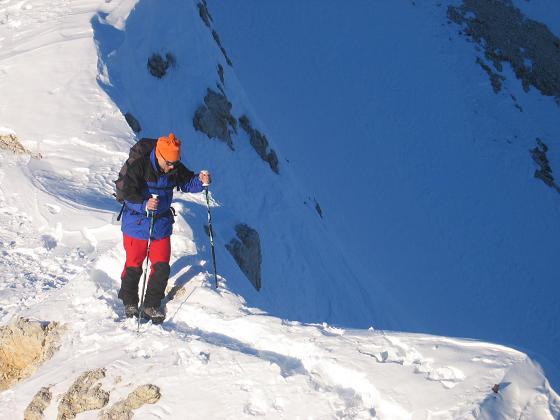 Foto: Andreas Koller / Ski Tour / Dürrenstein, 2839m - von Außerprags / 24.12.2008 13:50:43