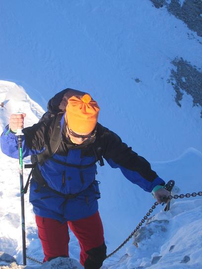 Foto: Andreas Koller / Ski Tour / Dürrenstein, 2839m - von Außerprags / 24.12.2008 13:50:36