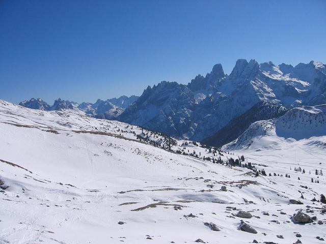 Foto: Andreas Koller / Ski Tour / Dürrenstein, 2839m - von Außerprags / 24.12.2008 13:48:03