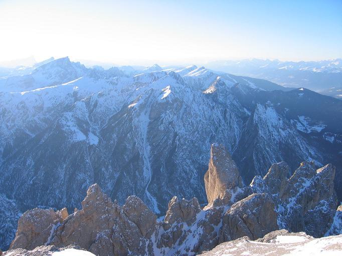 Foto: Andreas Koller / Ski Tour / Dürrenstein, 2839m - von Außerprags / 24.12.2008 13:47:19