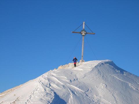 Foto: Andreas Koller / Ski Tour / Dürrenstein, 2839m - von Außerprags / 24.12.2008 13:46:21
