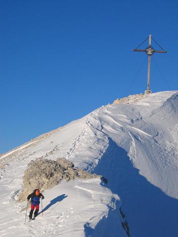 Foto: Andreas Koller / Ski Tour / Dürrenstein, 2839m - von Außerprags / 24.12.2008 13:45:44