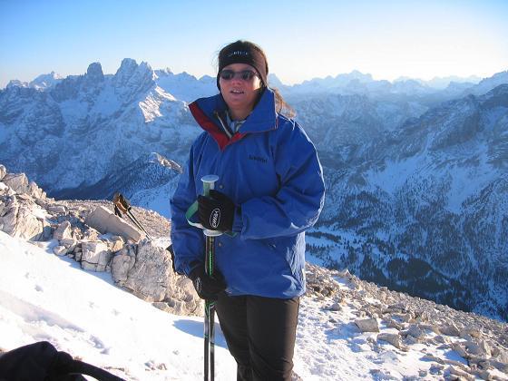Foto: Andreas Koller / Ski Tour / Dürrenstein, 2839m - von Außerprags / 24.12.2008 13:44:24