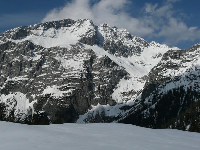 Foto: Manfred Karl / Skitour / Seehorn, 2320m / Kammerlinghorn - Hocheisspitze / 27.01.2009 22:07:40