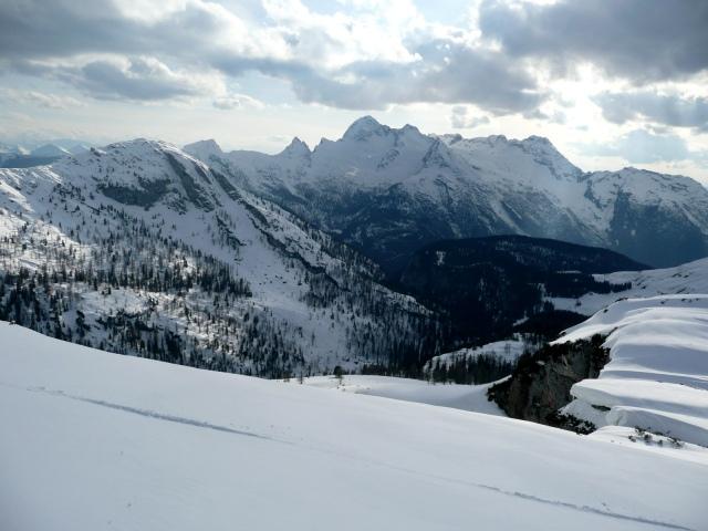 Foto: Manfred Karl / Skitour / Seehorn, 2320m / Loferer Steinberge / 27.01.2009 22:04:54