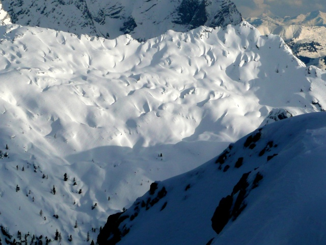 Foto: Manfred Karl / Skitour / Seehorn, 2320m / 27.01.2009 22:02:40
