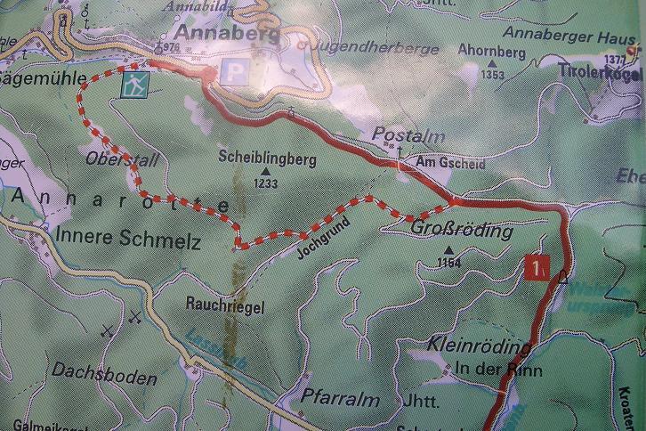 Foto: Andreas Koller / Ski Tour / Tirolerkogel, 1377m / 15.12.2008 00:40:29