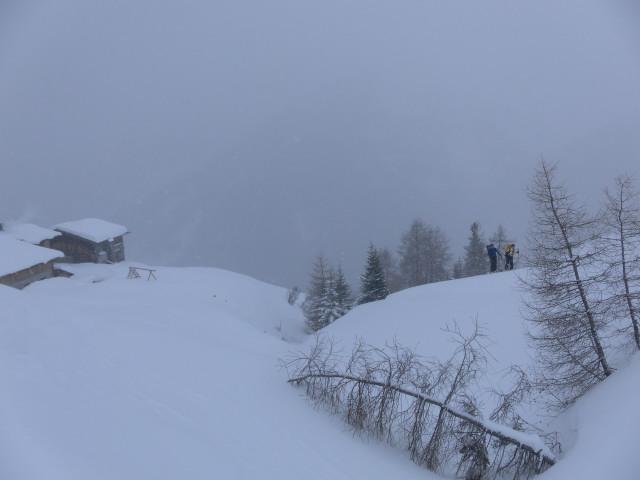 Foto: Wolfgang Lauschensky / Ski Tour / Naviser Kreuzjöchl (2536m) / Stöcklalm / 12.02.2013 17:28:27
