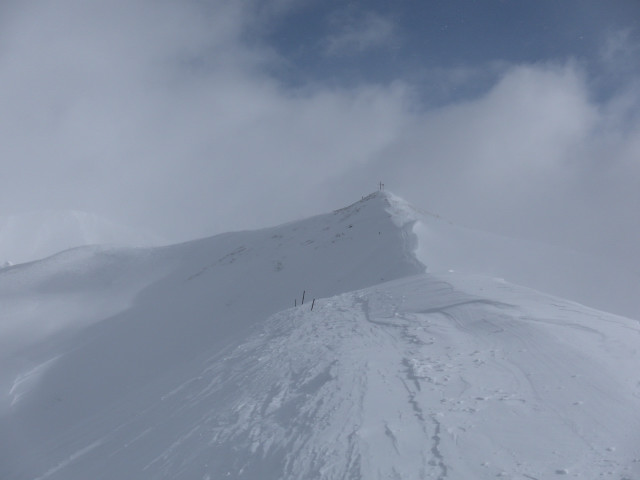 Foto: Wolfgang Lauschensky / Ski Tour / Naviser Kreuzjöchl (2536m) / Westgrat des Naviser Kreuzjöchls / 12.02.2013 17:28:19
