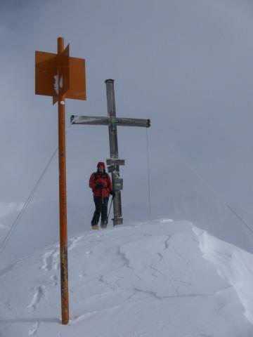 Foto: Wolfgang Lauschensky / Ski Tour / Naviser Kreuzjöchl (2536m) / Naviser Kreuzjöchl / 12.02.2013 17:28:05