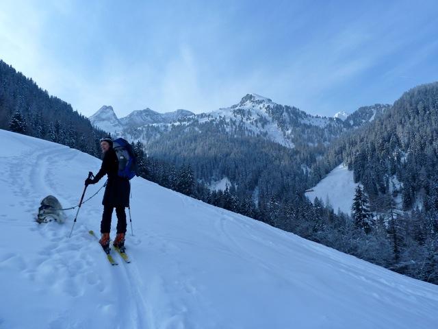 Foto: Thomas Höllwarth / Ski Tour / Brandberger Seespitze (2390m) / 04.02.2012 15:54:07