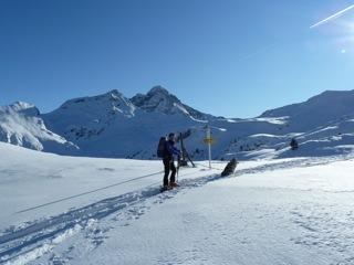 Foto: Thomas Höllwarth / Ski Tour / Hochfeld, 2350m / 19.01.2012 15:12:18