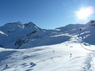 Foto: Thomas Höllwarth / Ski Tour / Hochfeld, 2350m / 19.01.2012 15:12:33