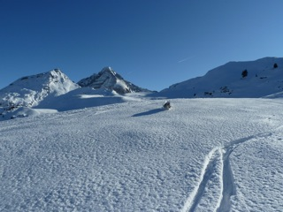 Foto: Thomas Höllwarth / Skitour / Hochfeld, 2350m / 19.01.2012 15:13:20