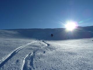 Foto: Thomas Höllwarth / Ski Tour / Hochfeld, 2350m / 19.01.2012 15:13:31