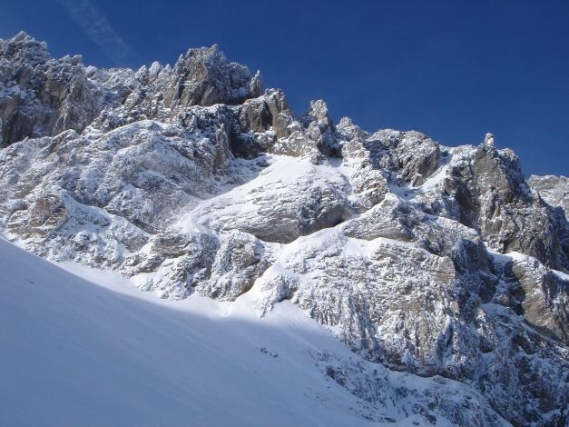 Foto: Manfred Karl / Ski Tour / Taferlnock / Im Kar unterhalb der Permuthwand / 27.01.2009 06:21:35