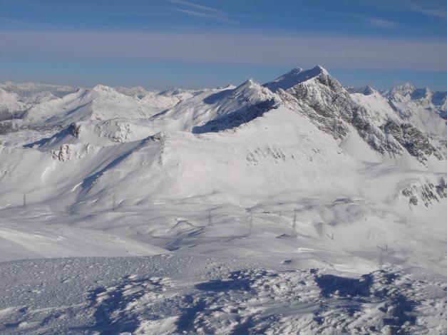 Foto: Manfred Karl / Ski Tour / Taferlnock / Blick zu den Pleißlingkeilen / 27.01.2009 06:20:21