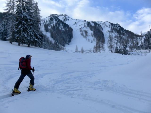 Foto: Wolfgang Lauschensky / Ski Tour / Wasserfallspitze, 2507m  / Farmrieseck / 01.02.2012 17:57:14
