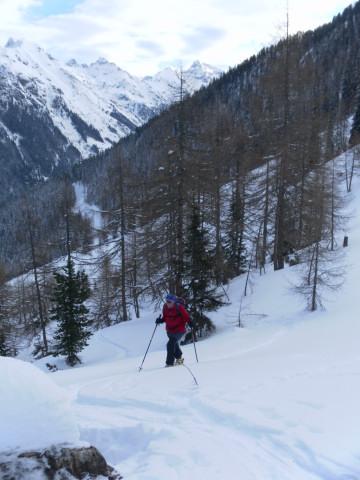 Foto: Wolfgang Lauschensky / Ski Tour / Wasserfallspitze, 2507m  / 01.02.2012 17:57:02