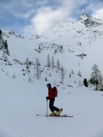 Foto: Wolfgang Lauschensky / Ski Tour / Wasserfallspitze, 2507m  / Sonntagskarzinken / 01.02.2012 17:56:53