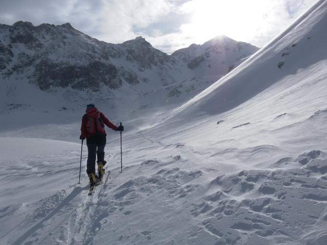 Foto: Wolfgang Lauschensky / Ski Tour / Wasserfallspitze, 2507m  / Nordkar / 01.02.2012 17:56:20