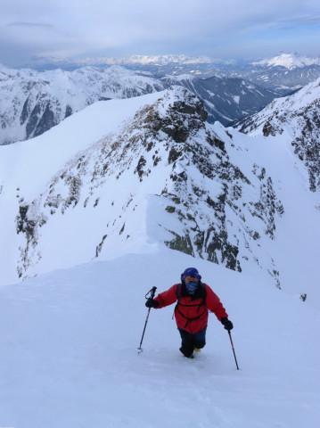 Foto: Wolfgang Lauschensky / Ski Tour / Wasserfallspitze, 2507m  / Westgrat / 01.02.2012 17:55:20
