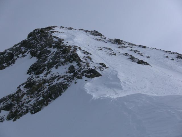 Foto: Wolfgang Lauschensky / Ski Tour / Wasserfallspitze, 2507m  / Gipfelanstieg / 01.02.2012 17:55:13