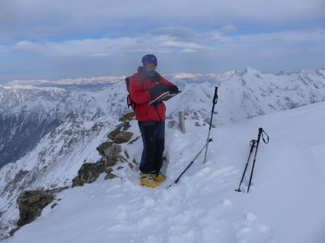 Foto: Wolfgang Lauschensky / Ski Tour / Wasserfallspitze, 2507m  / Wasserfallspitze / 01.02.2012 17:55:02