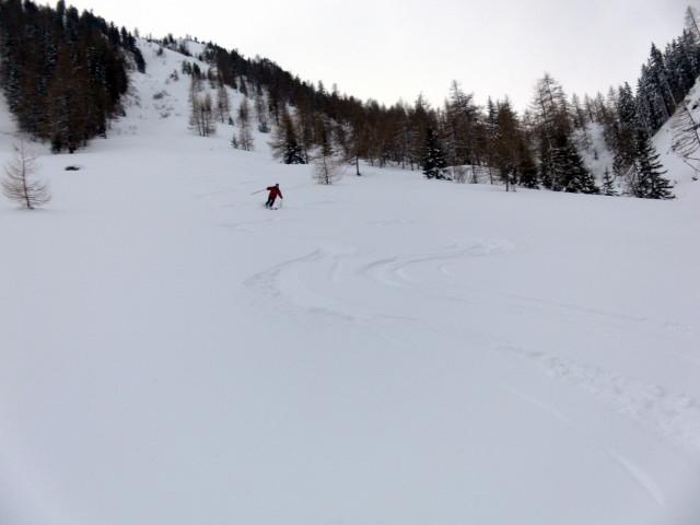 Foto: Wolfgang Lauschensky / Ski Tour / Wasserfallspitze, 2507m  / schöne Almhänge / 01.02.2012 17:54:00