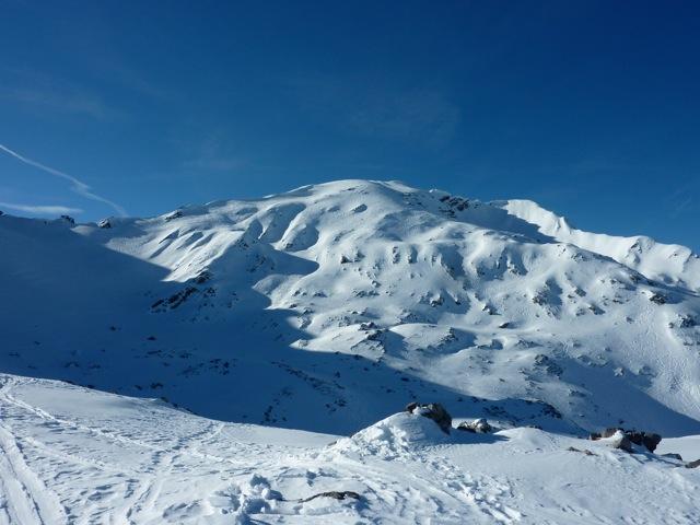 Foto: Thomas Höllwarth / Ski Tour / Mehlsack, 2651m / 29.01.2012 21:05:49