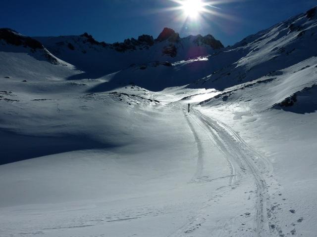 Foto: Thomas Höllwarth / Ski Tour / Mehlsack, 2651m / 29.01.2012 21:05:59